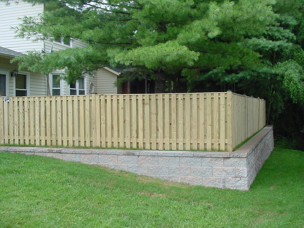 Fence providing protection for pets