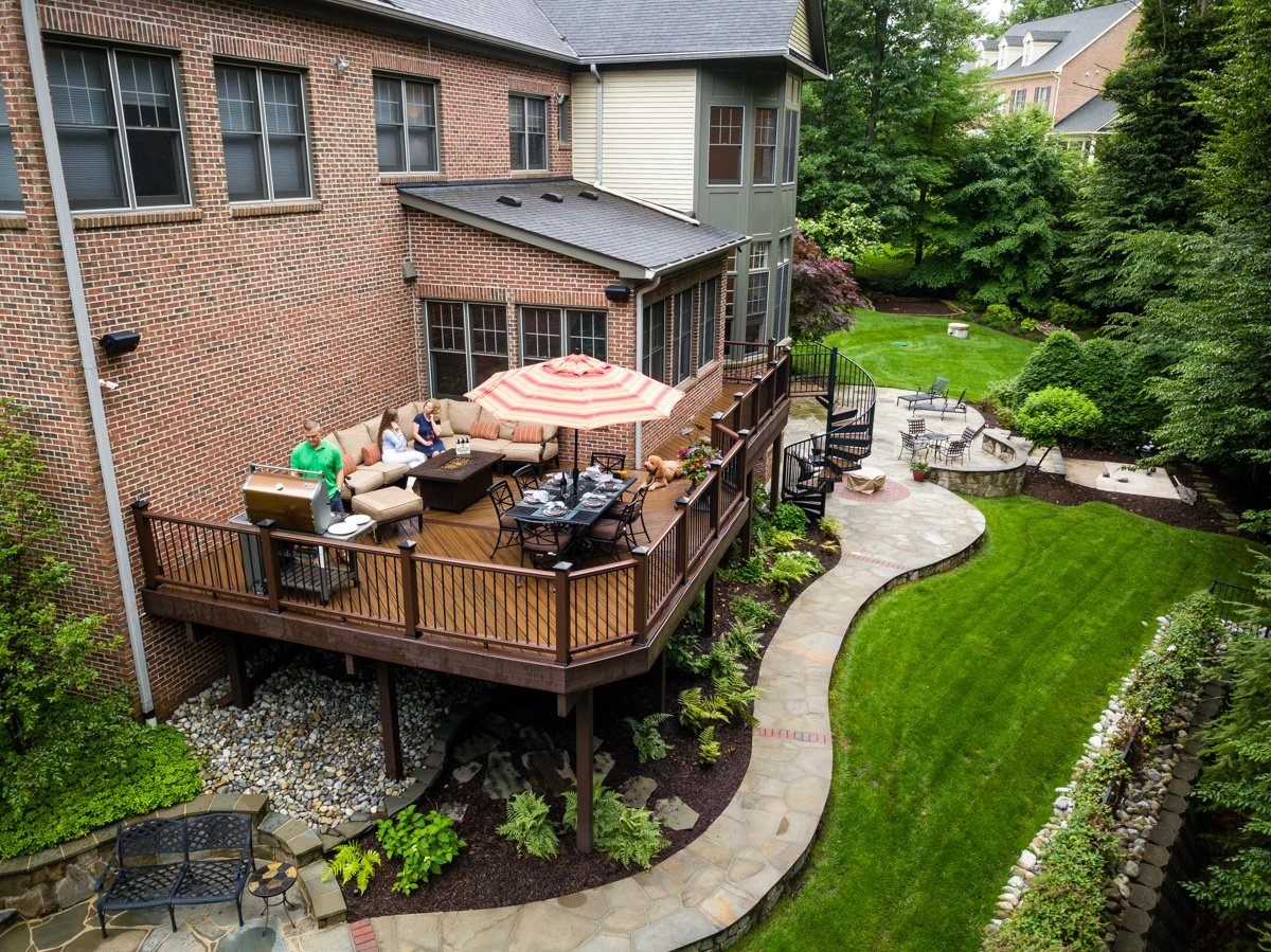 deck over patio