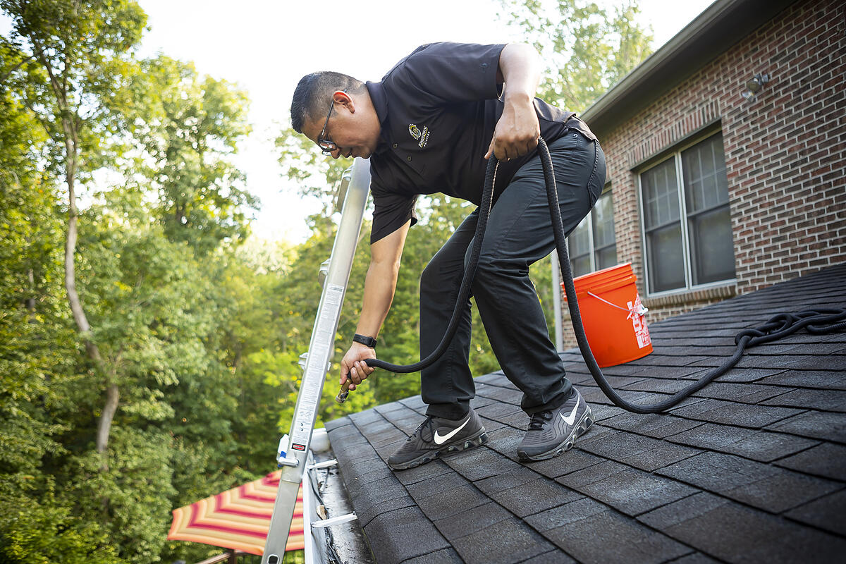 professional gutter cleaning services to prevent drainage issues