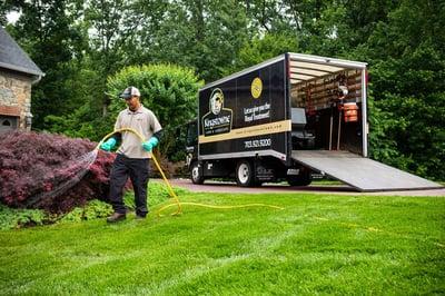 Kingstowne Lawn and Landscape lawn treatment Alexandria, VA