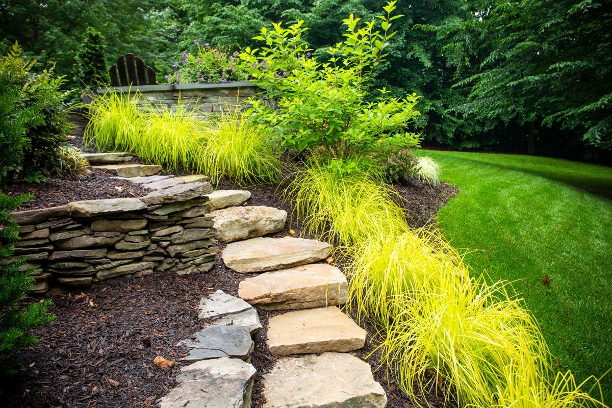 steps-wall-stone-planting