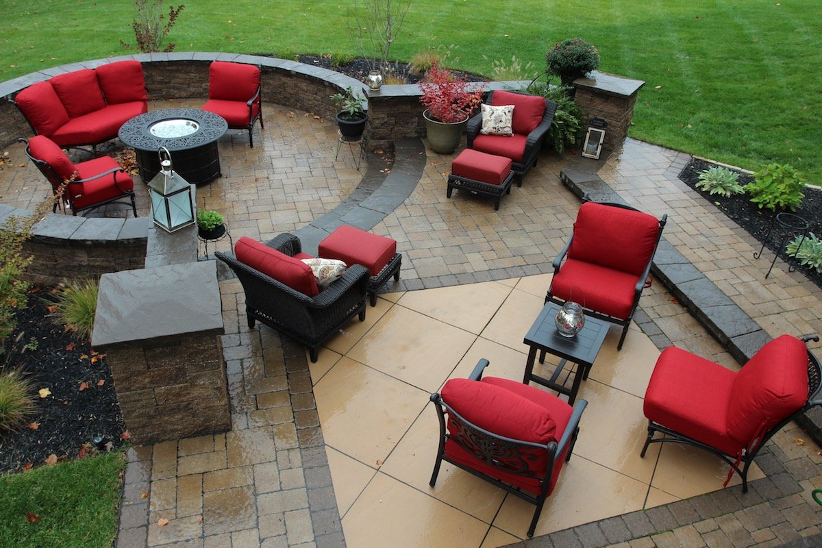 beautiful custom patio