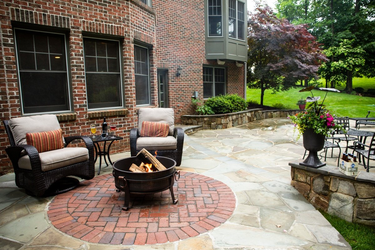 Paver Patio Design Patterns: Unique Patio Design Ideas and Pictures